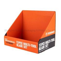 段ボール小売ディスプレイペーパーボックスカスタマイズオフセット印刷商品棚 カートンを表示( Display Carton
