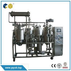 De hete Aangepaste het Mengen zich van het Roestvrij staal Chemische Reactor van de Polymerisatie