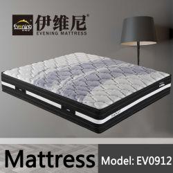 Gel de tejido de poliuretano de medio ambiente confortable colchón de espuma de memoria