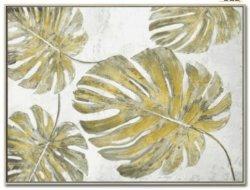도매 드롭십 추상 아름다운 몬스테라 세라만 핸드페인티드 장식 유화 온캔버스 (GF-033)