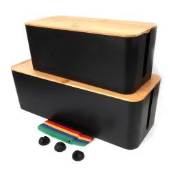 Бамбук кабель крышки багажника организацию в салоне трос управления гнездо для хранения данных для регистрации офисном помещении