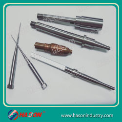 Alta precisión de mecanizado de carburo de tungsteno inserciones de molde de núcleos de morir /Agujas válvula /Pen insertos para piezas de molde de plástico
