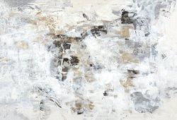 完全なColor  抽象美術、油絵、金の失敗の芸術40X30inchの壁映像