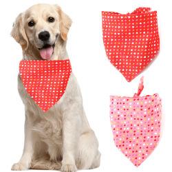 وشاح القلب ذو الحجم الكبير من حزب فالنتين في عيد الحب Print Bib للحيوانات الأليفة