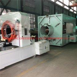 آلة تشينغداو للبلاستيك توين / مفرق واحد / بروز PVC PE PPR PP خط أنابيب إمداد المياه/خط الطرد المياه/الغاز/أنابيب الإمداد بالمياه