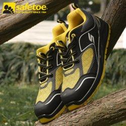 CE aprobados Zapatos de seguridad con puntera de acero para hombres y mujeres , resistente al aceite de cuero auténtico fabricantes de calzado de seguridad industrial para  trabajo de hombre