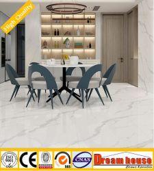 Natural blanco de Carrara pauta continua 3D Ink-Jet azulejos de cerámica de la pared interior 800X800