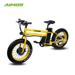 [أيموس] إطار العجلة سمينة [فولدبل] يتسابق دراجة كهربائيّة مع حقيبة مكان