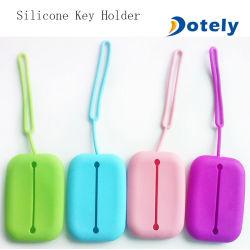Силиконовый чехол с кольцом цепочки ключей сумка чехол для карт Mini держателя Wallet