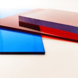 Устойчивость к царапинам пластмассовых материалов 1мм поликарбоната ПК в мастерской
