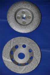 Maschinerie passte unterschiedlichen Sand-Fabrik-Großverkauf-Diamanten Sägeblatt-Fertigungsmittel an