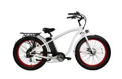 Elevador eléctrico de 26 polegadas Pneu Gordura Montanha Beach Cruiser Bike para a UE e o mercado dos EUA