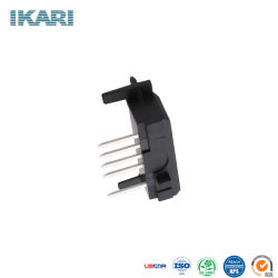 Embase à broches mâle Ikari PCB en-tête de l'automobile de la Chine usine douille en plastique prix de lot de barre de coupe à travers le trou du connecteur 5 broches pour l'automobile