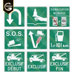 Segnaletica di sicurezza 2020 d'avvertimento di alluminio su ordinazione esterna di traffico stradale del blocco per grafici della piastra di metallo di qualità della Cina per il prezzo di fabbrica