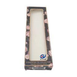 Presente de Natal Embalagem de Papelão Ondulado Caixa de papel Kraft com janela em PVC transparente
