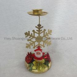 Navidad Decoración de velas de hierro con una estrella de Casa de Vacaciones Fiesta de Bodas Decoración ornamento gancho regalos artesanales
