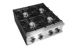 Equipamiento de cocina estufa de gas con el Gabinete para Hotel & Restaurant