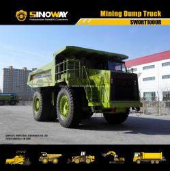 堅いダンプトラックを採鉱する道のトラック90tonを離れて頑丈