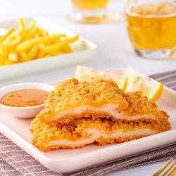 المطبوخ بالكامل مصنع الصين شهادة BRC صدر الدجاج اللعين Frozen دجاج تشوب صدر دجاج مقلي مقرمش