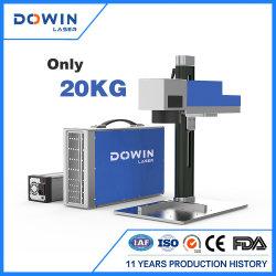 표하기 기계 유명한 카드 이동 전화 힘 은행 표하기와 조각 기계 가격을 인쇄하는 휴대용 소형 CNC Laser 금속 조판공 섬유 Laser LED 전구 로고