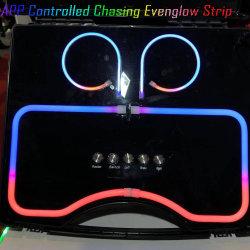 LED-Lichter für des Auto-den Innenautomobilinnenraum-LED der Licht-20 APP-Steuersekundärmarkt SMD5050 Streifen 60inch DES CREE-LED wasserdicht