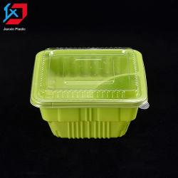 Doos van de Lunch van Bento van de Container van de Opslag van het Voedsel van de microgolf de Plastic Beschikbare