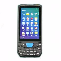 La fidelidad P-45 Lector RFID Handheld Terminal Industrial de la pantalla LCD 4.5INCH PDA Escáner de códigos de barras 1D 2D para almacén de logística