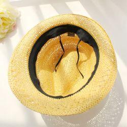 Homem de moda personalizada Hat Papel de Verão da Tampa de Palha