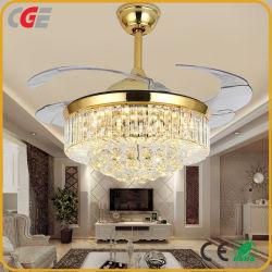 Éclairage de plafond moderne de style simple Ventilateur de plafond décoratif lumière Ventilateur de mini Ventilateur de chauffage Restaurant d'utilisation de lumière Ventilateur de plafond lustre lumière Ventilateur électrique