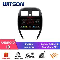 Video van de Navigatie van 10 Auto DVD van Witson de Androïde voor Nissan Zonnige 2015