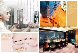 Großhandel Streifen Kristall Glasperlen Drape Diamant Trennwand Dekorativen Vorhang Für Doorway