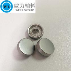 옷감을 위한 무광택 니켈 생크 버튼 합금 금속 버튼 의류 의류 의류 의류 액세서리