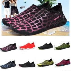 Heiße Art-Strand-Schuhe versetzten Indikator-Schuh-Wasser-die rutschfesten Schwimmen-Schuhe, die der blank Fuss-Stock-Haut-Schuh-Frauen der Schuh-Männer weiche Schuhe waten