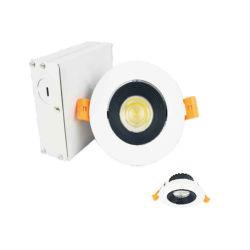 Contenitore in vetro di alluminio per PC di alta qualità per illuminazione interna LED incassato Luce giù