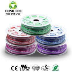 12V 2835 5050 120LEDs/M China à prova de fábrica PI68 LED LED Neon de silicone flexível 8mm para sinal de neon de LED