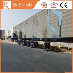 Novo design industrial fabricada Construções prefabricadas Estrutura de aço/Prédio de Depósito de oficina luz de fábrica da estrutura de aço