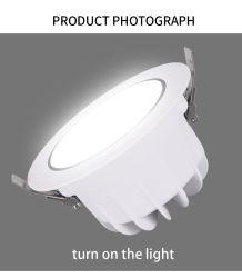 Rund Scheinwerfer des Gussaluminium-sterben Deckenleuchte LED PFEILER LED Downlight vertieften