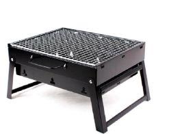 小型折りたたみのポータブルの調節可能な木炭バーベキューBBQのグリル