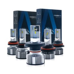 Bombilla de luz LED de F2 Kit HID Coche 9005 9006 Kit de xenón llevado H1 H11 H7 para coche Faro LED H4 H11