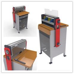 2Em 1 de Perfuração de papel da máquina de Encadernação com fio do sistema mais estreita e morrem intercambiáveis