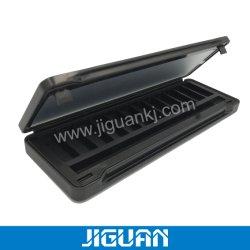 Black Eye Shadow de gama alta Platte Caja de hierro con espejo interior
