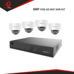 H., 265 NVR Poe HD 4K 8MP der Abdeckung-4 IP-Kamera-Installationssätze CCTV-System Kanal CCTV-PTZ