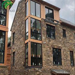 Heat-Insulation Seguridad gafas de doble ventana Aluminio Metal ligero.