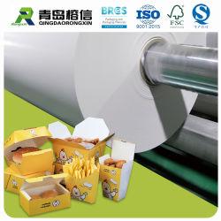 Vetvrij Document op basis van water, het Document van Warpping van de Hamburger, het Document van de Verpakking van het Voedsel van het Vet