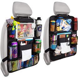 De volta Carro Seat Organizer Backseat Carro Protector do encosto do banco do Organizador Organizadores Organizador de acessórios de viagem