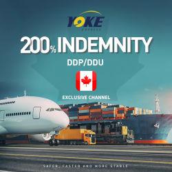 Transporte de carga aérea a la puerta a Canadá Fba Service Worldwide Logistics DDP DDU Service