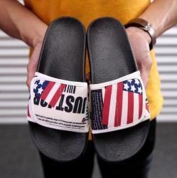 Último projeto EVA desliza o logotipo personalizado Verão chinelos sandálias de praia