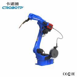 Crobotp 1400mm, alcanzando el brazo robot de soldadura por arco de industriales de producción automatizada