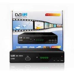 4K Junuo Ultra HD TV Box DVB-T2 MPEG-2/4 H. 265 Soutien lecteur multimédia HD 1080p téléviseur HDMI Set Top Box