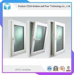 PVC Yika UPVC// Inclinação de vinil e gire a janela do impacto do furacão da Janela